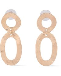 Kenneth Jay Lane - Gold-tone Earrings Gold - Lyst