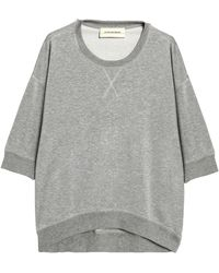 By Malene Birger - Terry Sweatshirt Grey - Lyst