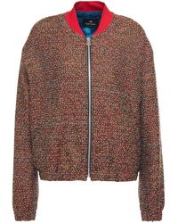 PS by Paul Smith - Bouclé-tweed Jacket - Lyst