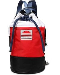 Marc Jacobs Sport Sling Drawstring Backpack - Red