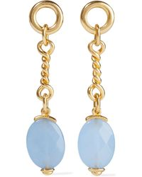 Ben-Amun 24-karat Gold-plated Bead Earrings Gold - Metallic