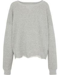 Simon Miller - Mélange French Cotton-terry Sweatshirt - Lyst