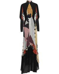 Etro Versatile Flared Maxi Dress - Black