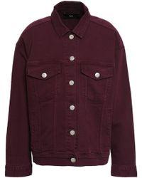 3x1 Denim Jacket Grape - Multicolour