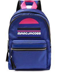 Marc Jacobs Rucksack Aus Shell Mit Gummibesatz - Blau