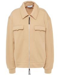 NINETY PERCENT French Cotton-terry Jacket - Natural