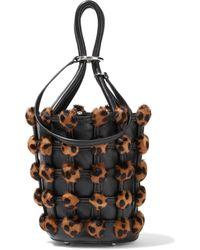 Alexander Wang Roxy Cage Bucket Bag - Black