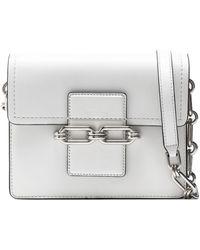 Michael Kors - Chain-embellished Leather Shoulder Bag - Lyst