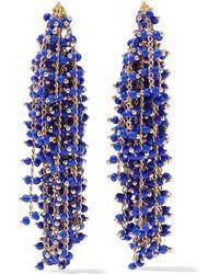 Elizabeth and James - Gold-tone Beaded Earrings - Lyst