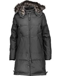 W118 by Walter Baker - Farrah Faux Fur-trimmed Coated Shell Hooded Down Coat - Lyst