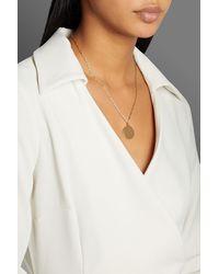 Iris & Ink Layla 18-karat -plated Necklace - Metallic
