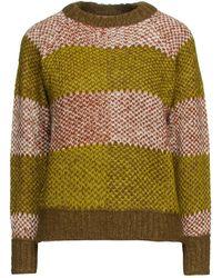 Antik Batik Arthur Jacquard-knit Alpaca-blend Sweater - Green
