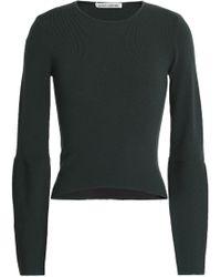 Autumn Cashmere - Cutout Merino Wool-blend Sweater - Lyst