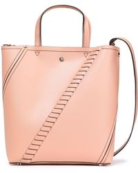 Proenza Schouler Whipstitched Leather Tote Blush - Pink