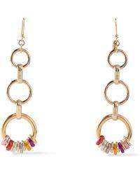 Rosantica Gold-tone Earrings Gold - Metallic