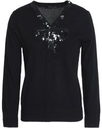 Marc Jacobs - Sequin-embellished Wool Sweater - Lyst