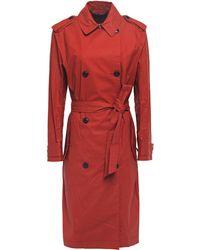 Rag & Bone Rufus Trench Coat - Red