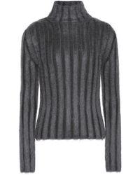 Nina Ricci - Ribbed Wool-blend Turtleneck Sweater - Lyst