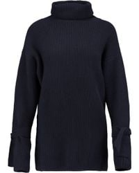 N.Peal Cashmere - Ribbed Cashmere Turtleneck Sweater - Lyst
