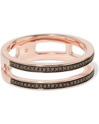 Monica Vinader - Skinny Double Band - Lyst