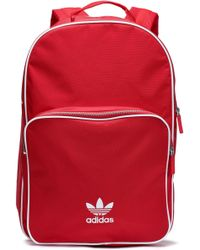 bd80fdd200 adidas Originals - Woman Woven Backpack Red - Lyst
