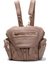 Alexander Wang - Leather Backpack Light Brown - Lyst