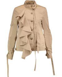 Robert Rodriguez - Ruffled Cotton-twill Jacket - Lyst