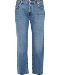 Acne Studios Pop Light Vintage Boyfriend Jeans Mid Denim - Blue