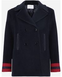 Sandro - Cynda Double-breasted Wool-blend Coat - Lyst