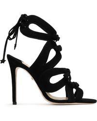 Isa Tapia Sandals - Black