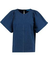 M.i.h Jeans - Mina Striped Cotton Top - Lyst
