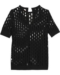 Marni - Open-knit Cotton Top - Lyst