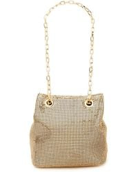 RIXO London - Olive Chainmail Shoulder Bag - Lyst