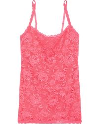 Cosabella Never say never sassie top aus stretch-spitze - Pink