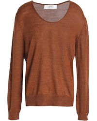 Vanessa Bruno Athé - Mélange Knitted Sweater - Lyst