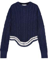 Esteban Cortazar Medium Knit Navy - Blue