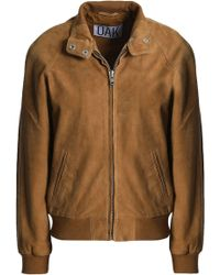 OAK Render Suede Jacket Light Brown - Multicolor