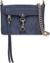 Bag Mab Indigo Textured Nubuck Shoulder j3AL5c4Rq