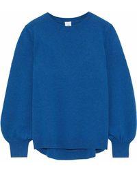 Iris & Ink - Misty Gathered Cashmere Sweater - Lyst