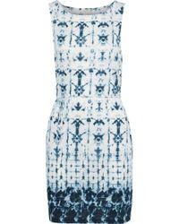 Soft Joie - Madia Tie-dye Cotton And Modal-blend Jersey Mini Dress - Lyst