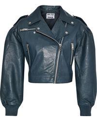 W118 by Walter Baker - Kai Leather Biker Jacket - Lyst