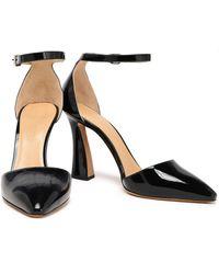 Emporio Armani Patent-leather Pumps - Black