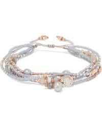Chan Luu - Beaded Rope Bracelet - Lyst