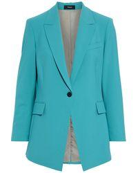 Theory Wool-blend Blazer - Blue