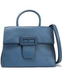 8cafd06dc9ef Maison Margiela - Woman Textured-leather Shoulder Bag Light Blue - Lyst