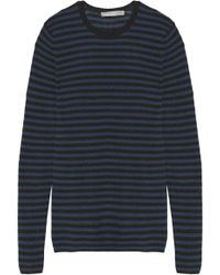 Vince - Striped Cashmere Sweater - Lyst