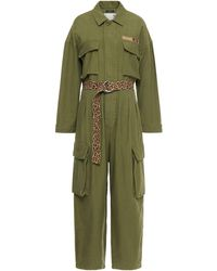 R13 Abu Belted Jumpsuit Army Green