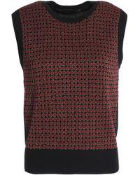 Vanessa Seward - Metallic Wool-blend Jacquard Jumper - Lyst