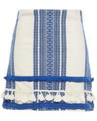 Cecilie Copenhagen Cecilie Copenhagen Viola Embellished Cotton-jacquard Mini Skirt - Blue