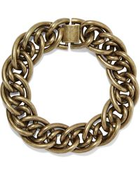 Zimmermann Burnished Gold-tone Bracelet Brass - Metallic
